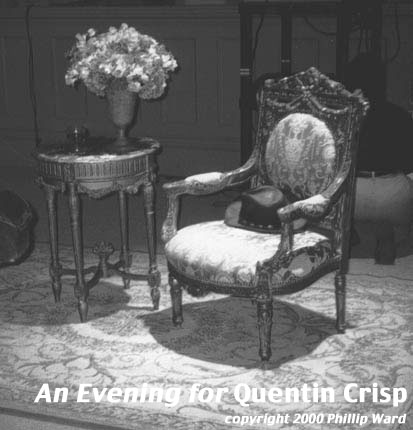 Quentin Crisp An Evening With Quentin Crisp